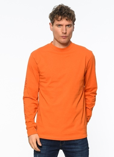 Vans Uzun Kollu Tişört Oranj
